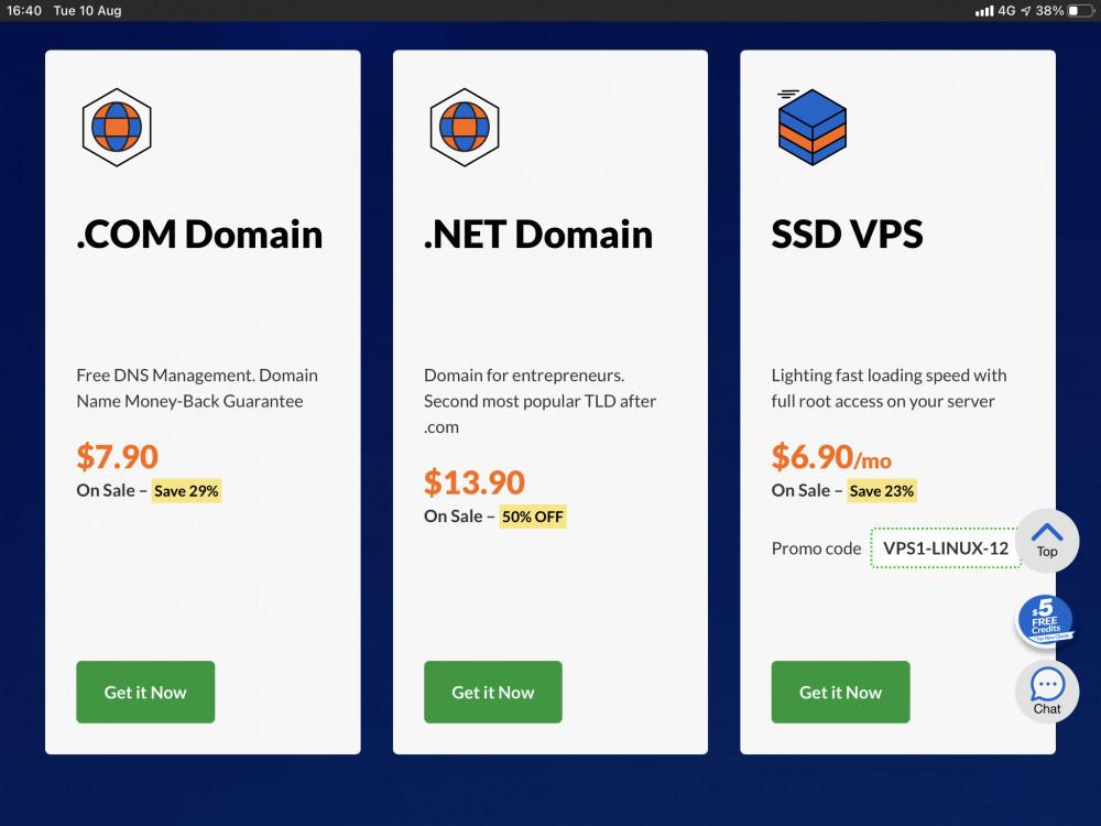 Exabytes Review Domain Pricing