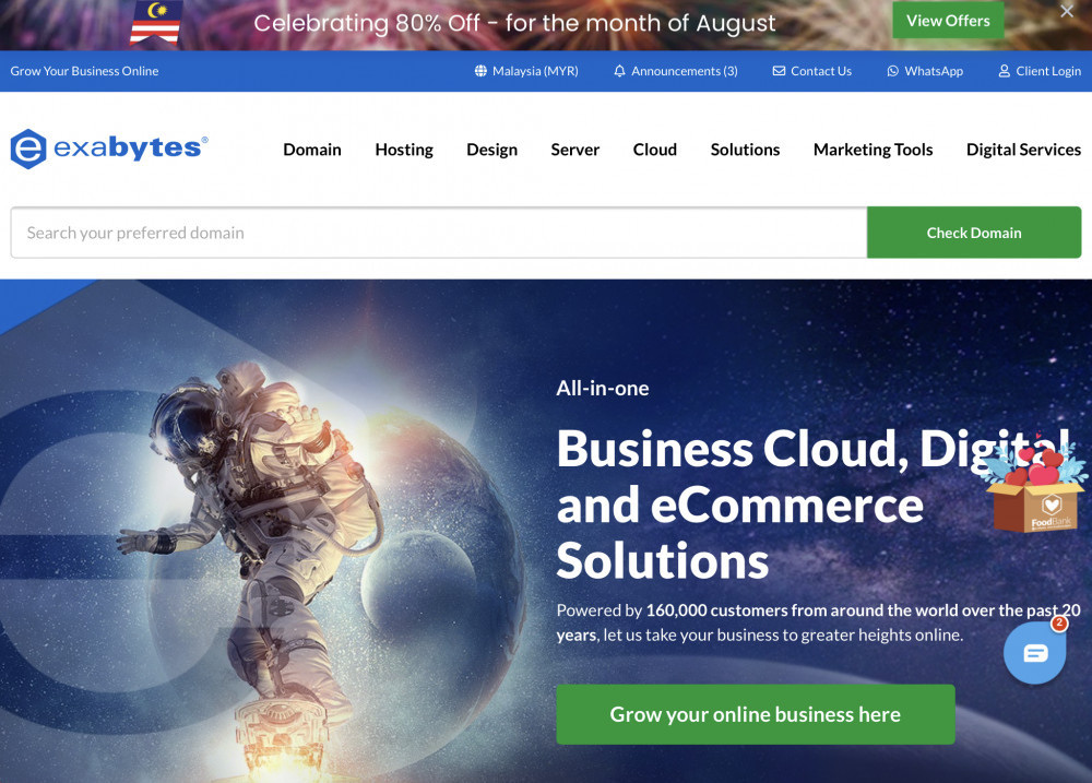 Exabytes Review: Business Web Hosting Companies