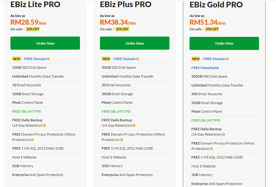 Exabytes Review Vps Pricing